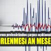 Deprem profesöründen flaş açıklama: Belirlenmesi an meselesi… haberi