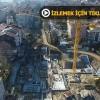 İstanbullular'ın merakla beklediği proje havadan görüntülendi
