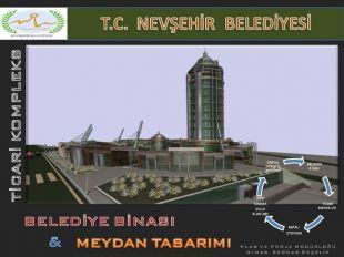 """Nevşehir""""de Dev Kompleksin İnşaatı Devam Ediyor"""