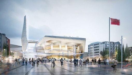 Atatürk Kültür Merkezi İçin Yeni Proje