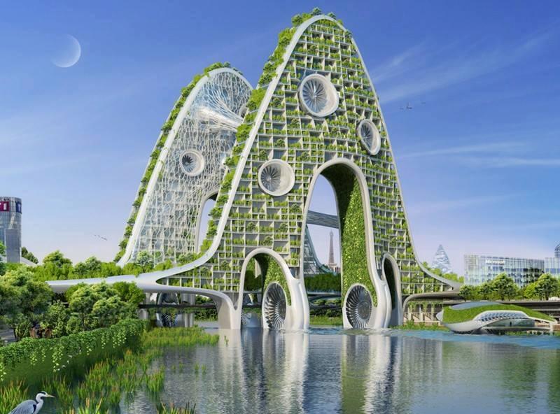 Yeşili Seven Binalar Galerisi