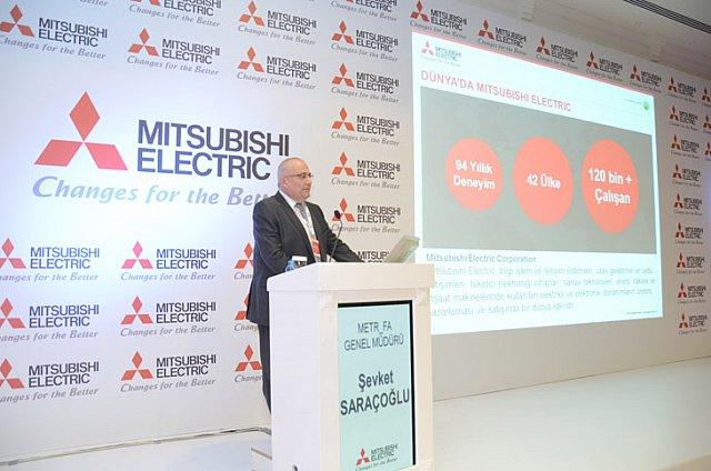 """Mitsubishi Electric'den """"Türkiye'nin Geleceği İçin Çalışıyoruz"""" Temalı Sektör Buluşması"""