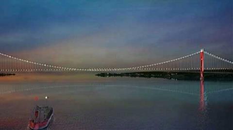 Çanakkale Köprüsü'nün Görselleri İlk Kez Yayınlandı