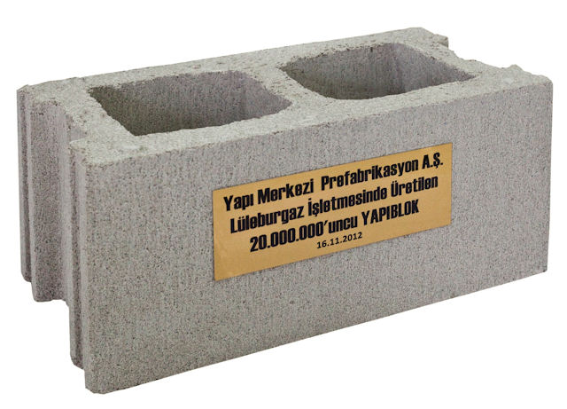 20 milyonuncu Yapıblok üretildi…