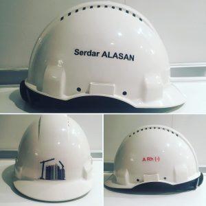 KİŞİYE ÖZEL BARET (3M G300 MARKA)