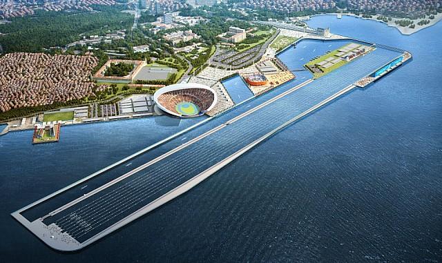 2020 Olimpiyat Oyunları için Haydarpaşa'ya Yeni Stadyum Önerisi