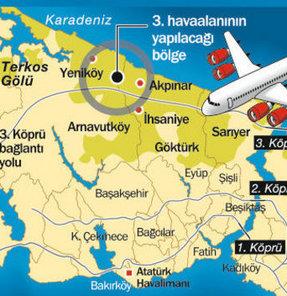 3'üncü havalimanı 6.4 milyar dolara mal olacak
