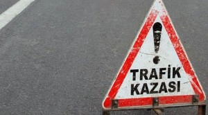 İnşaat Ustası Trafik Kazası Geçirdi