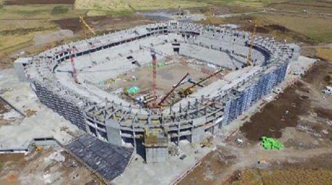Diyarbakır'da Stadyumun İnşaatı Bitti