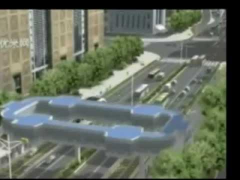 Çin Metrobüs Tasarımı