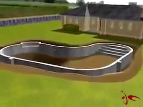 Havuz Yapımı Animasyonu