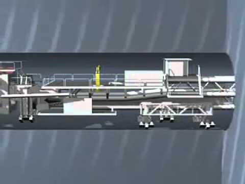 Tünel Yapımı Animasyonu