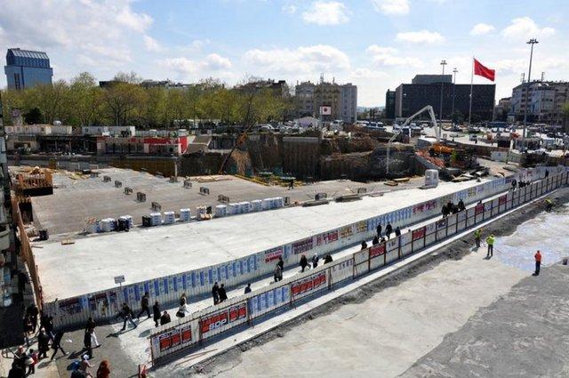 İşte 1 Mayıs kutlaması yapılmak istenen Taksim Meydanı!