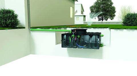 Yağmur Suyunun Kullanımını Sağlayan ACO Rain4me Sistemi