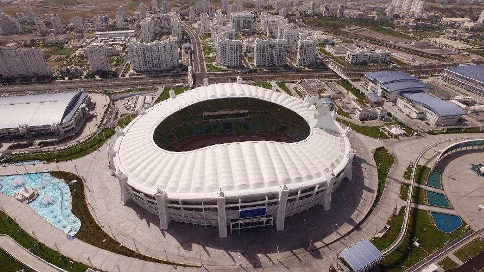 Polimeks'in Türkmenistandaki Yapıları Rekor Kırıyor