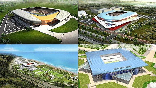 Türk Futbolu Modern Statlara Kavuşuyor