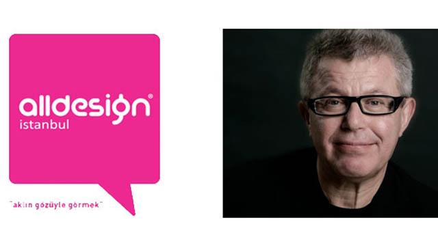 Daniel Libeskind, Alldesign 2015 İçin İstanbul'a Geliyor!