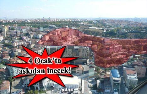Beyoğlu Örnektepe ve Sütlüce kentsel dönüşüm imar planı yeniden askıda
