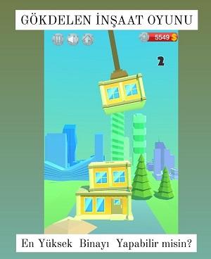 inşaat yapma oyunu