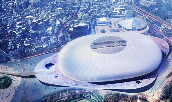 Tabanlıoğlu, Japonya Yeni Ulusal Stadyumu Tasarım Yarışması finalinde