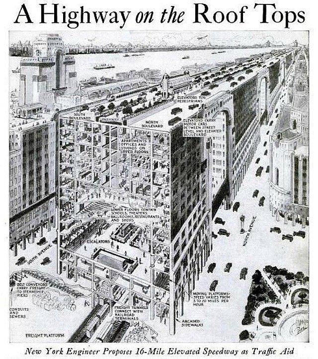 """1927 New York'unun """"Çılgın Proje""""leri"""