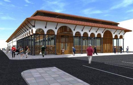 Ankara Aydınlıkevler Kapalı Semt Pazarı'nın inşaatı başladı!