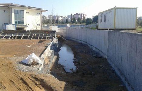 Çayırova Hasan Tahsin İlkokulu'na spor salonu inşa ediliyor!