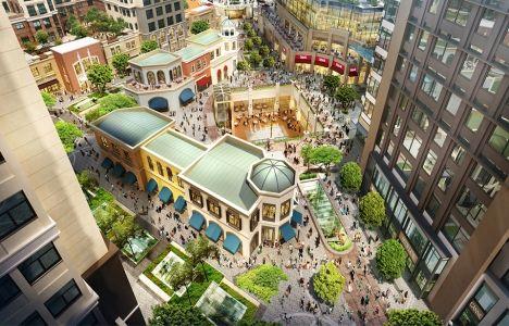 Emaar Square'nin AVM bölümü Şubat'ta açılacak!