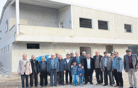 Pamukkale Güzelköy Cemevi'nin kaba inşaatı tamamlandı!