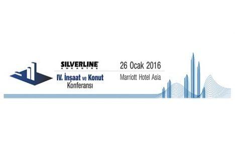 Silverline 4. İnşaat ve Konut Konferansı yarın başlıyor!