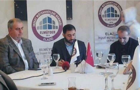Elazığ'da kentsel dönüşüm sorunları konuşuldu!