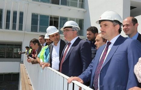 Arnavutköy Yönetim Merkezi'nin inşaatında sona gelindi!