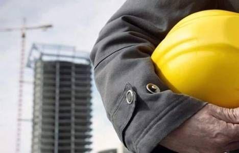 İş kazalarında en fazla sıkıntı inşaatlarda yaşanıyor!