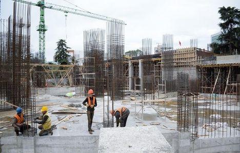 Arnavutluk Namazgah Camii inşaatında son durum!