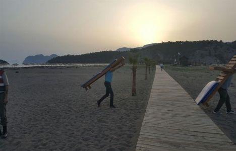 İztuzu Plajı tahliye edildi!