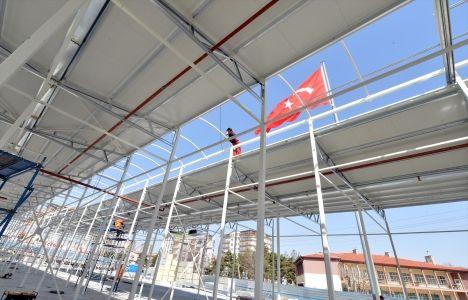 Ankara Osmanlı Halk Pazarı temel çalışmaları tamamlandı!