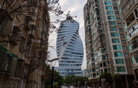 Çin'deki Burgu Bina'nın inşaatında sona gelindi!