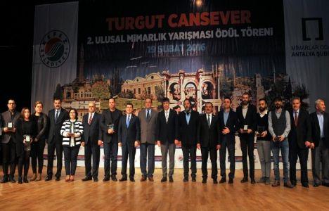 Kepez Belediyesi'nden mimarlara ödül!