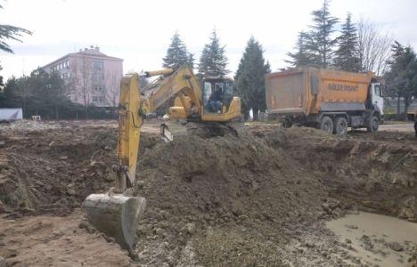 Suluova Belediye Hizmet Binası için ilk kazma vuruldu!