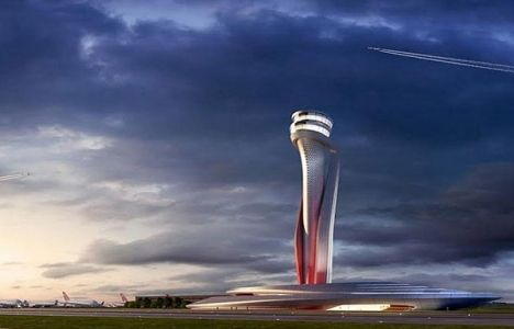 3. Havalimanı'nın Hava Trafik Kontrol Kulesi'nin temeli atıldı!