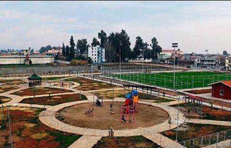Adana Yüreğir'de Doğankent spor tesisi tamamlandı!