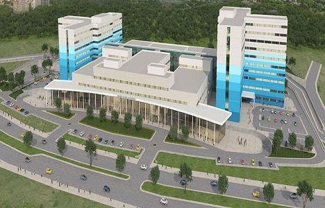 Isparta Şehir Hastanesi'nin yüzde 90'ı tamamlandı!
