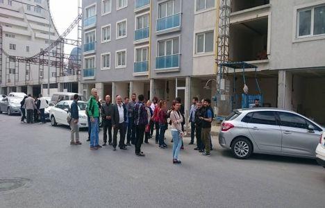 Makromtek Esenyurt mağdurları proje inşaatında!