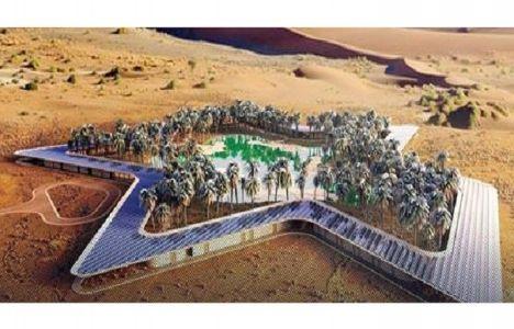 Dubai çöllerine çevre dostu otel inşa edilecek!