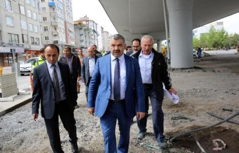 Kayseri'ye 850 metrelik yeni köprü!