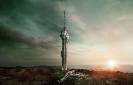 Çamlıca Kulesi'nin inşaatı başladı!