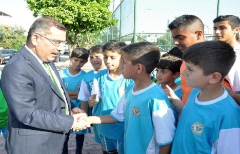 Mahmut Çelikcan'dan Yüreğir'e 3 yeni spor tesisi müjdesi!