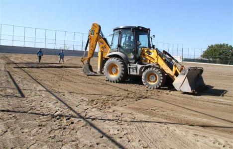 Alanya Kestel'e spor tesisi inşa ediliyor!