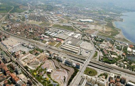 İzmit'te kentsel dönüşüm ticari alanlarda uygulanıyor!