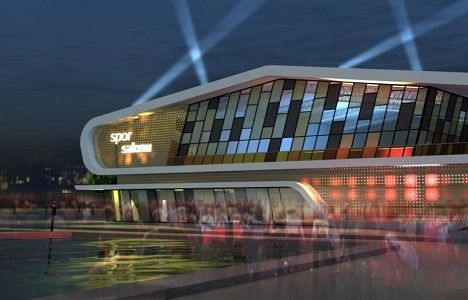 Afyonkarahisar Spor Salonu ve Gençlik Merkezi'nin inşaatı başladı!